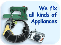 We fix all kinds of appliances