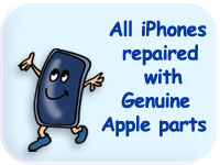 Genuine apple parts used